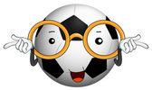 A football — Stock Vector