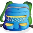 A school bag - Stock Vector