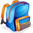 Royalty-Free Stock Vector Image: A school bag