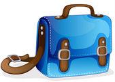 A blue bag — Stock Vector