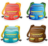 School bags — Stock Vector