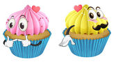 Cupcakes — Stock Vector