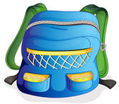 A school bag — Stock Vector