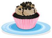 A cupcake — Stock Vector