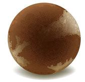Round chocolate — Stock Vector