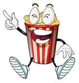 A popcorn — Stock Vector