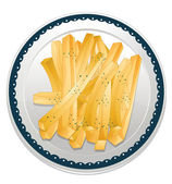 Fries — Stock Vector