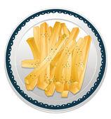 Fries — Stock Vector