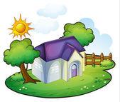 A house — Stock Vector