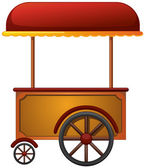 Cart stall — Stockvector