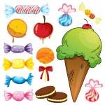 Постер, плакат: Various sweets