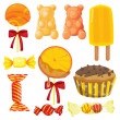 Various sweets — Stock Vector #14889845
