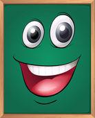 A green board — Stock Vector