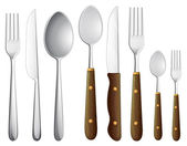A spoon set — Vecteur