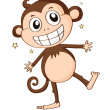 A monkey — Stock Vector