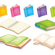 Books — Vector de stock #15803259