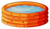 Uma piscina — Vetorial Stock