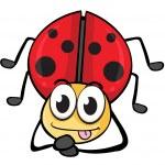 A ladybug — Stock Vector #16015385