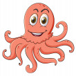 An octopus — Stock Vector