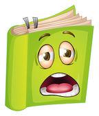 A book — Stock Vector