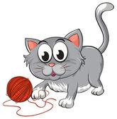 A cat — Stock Vector