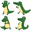 Crocodiles — Stock Vector