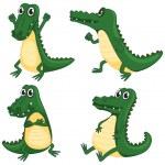 Crocodiles — Stock Vector #16286021