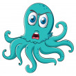 An octopus — Stock Vector #16759731
