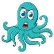 Stock Vector: An octopus