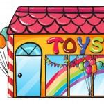 Постер, плакат: A toy shop