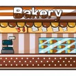 Royalty-Free Stock Vektorgrafik: A bakery