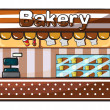 A bakery — Stock Vector