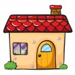 a house — Stock Vector