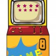 A gaming machine - Stock Vector