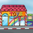 A toy shop — Stock Vector #17588409