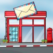 A post office - Stock Vector