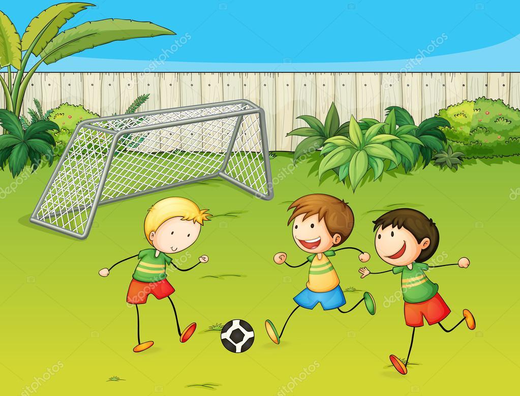 Рисовать с детьми футбол
