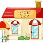 A coffee house — Stock Vector #17974337