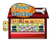 Fast food restaurant — Stock Vector