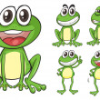 Royalty-Free Stock Vector Image: Frogs