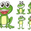 Frogs - Stockvectorbeeld