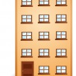 Stock Vector: An apartment