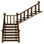 A staircase — Stock Vector
