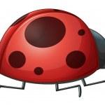 A ladybug — Stock Vector #18069497