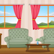 Royalty-Free Stock Vector Image: Room interior