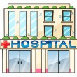 Hospital - Stock Vector