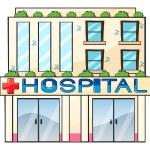 Hospital — Stock Vector #18188295