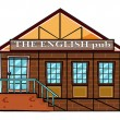 The english pub — Stock Vector