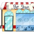 A PetShop — Stock Vector
