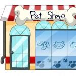 A PetShop — Stock Vector
